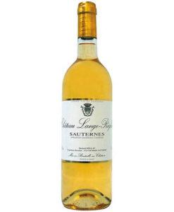 Süsswein Sauternes AC Château Lange-Réglat