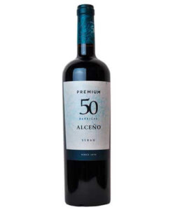 Rotwein Alceno Premium Syrah 50 Barrica Jumilla