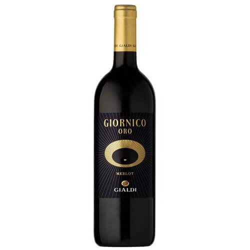 Rotwein Giornico Oro Ticino DOC Merlot Gialdi Vini