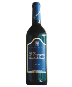 Rotwein Pinot Noir AOC Valais L'Empyrée Cave Emery