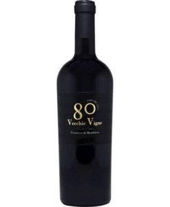 Rotwein Primitivo di Manduria 80 Vecchie Vigne CignoMoro