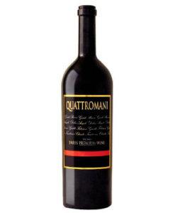 Rotwein Quattromani Ticino DOC Merlot Gialdi Vini