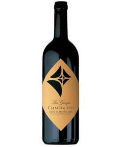 Rotwein Rosso di Montalcino DOC Ciampoleto San Giorgio