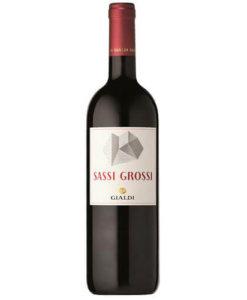 Rotwein Sassi Grossi Ticino DOC Merlot Gialdi Vini
