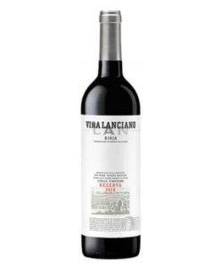 Rotwein Viña Lanciano Reserva Rioja Bodegas LAN