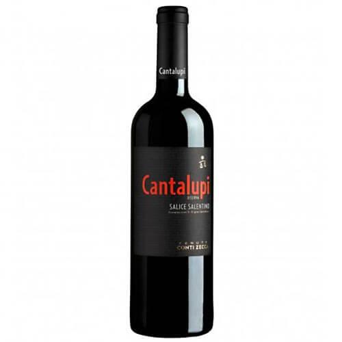 Rotwein Cantalupi Salice Salentino Riserva Conti Zecca