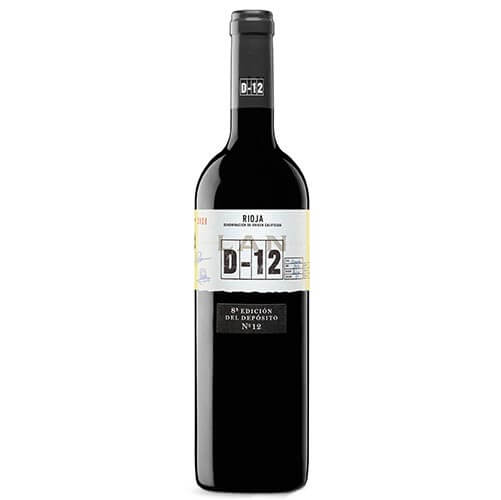 Rotwein Lan D-12 Rioja DOCa Bodegas LAN